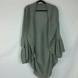 Sleeping on Snow oversized knit sweater shrug